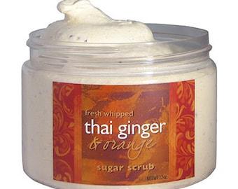 Thai Ginger and Orange Sugar Scrub