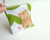 Coin Purse - Spring Kitty