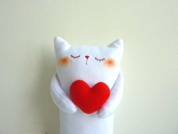 Cat Plush - Kitty Sincere - Etsy Project Embrace