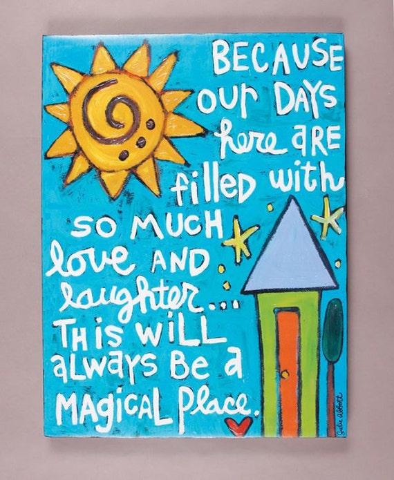 Magical Place- Art Canvas