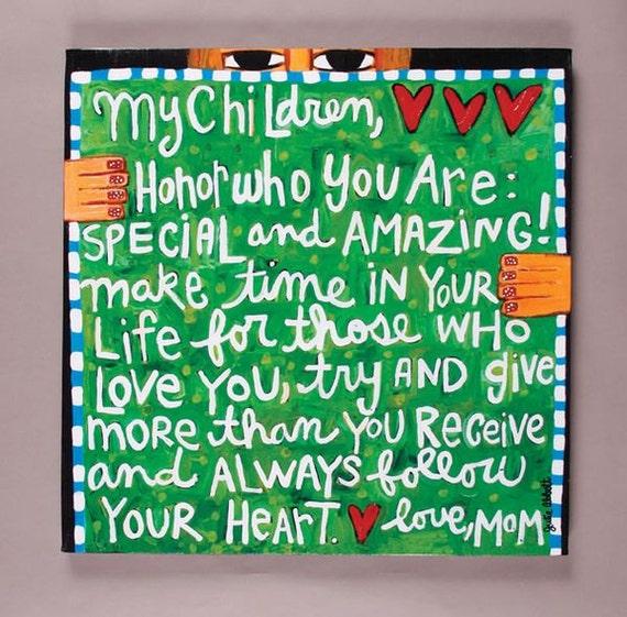 My Children- Art Canvas
