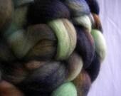 Godzilla 3.4 oz BFL Wool Top RESERVED for Cajun Fiber Co.