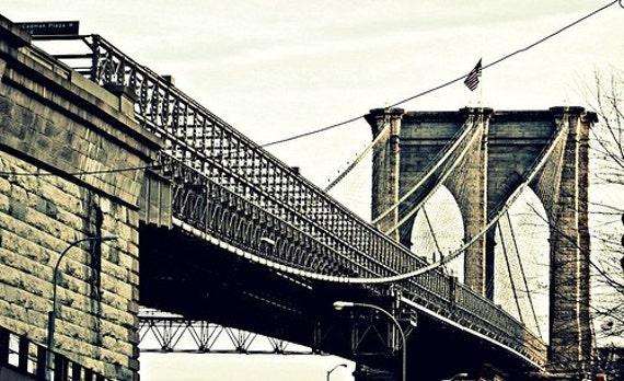 Brooklyn Bridge - 8x10 Fine Art Print