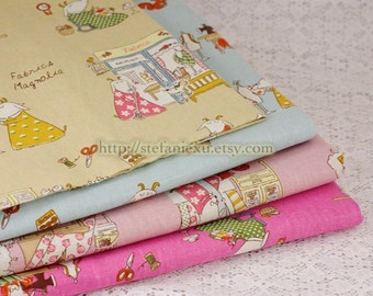 Magnolia Fabric Shop - Linen Cotton Blended Fabric (Fat Quarter)