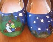 Sarah's fantastic wedding shoes