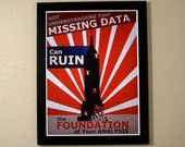 Statistics Propaganda Poster - Missing Data