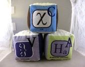 ABC's of Statsitics Soft Blocks - Set of 3