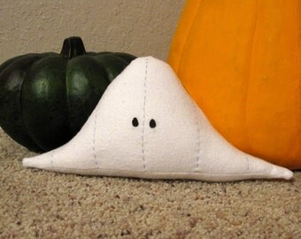 Paranormal Plushie - Standard Normal Distribution Ghost