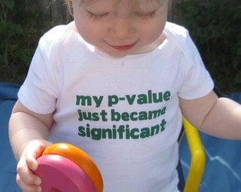 P-Value Baby Bodysuit