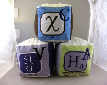 ABC's of Statsitics Soft Blocks - Set of 3