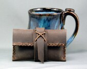 Rustic Leather Card Case or iPhone Case