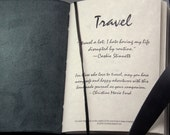 Custom Leather Travel Journal for the Adventurous Soul