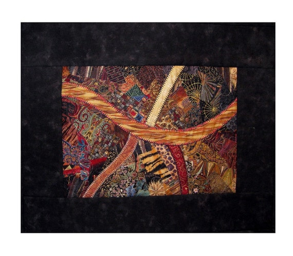Fine Art Fabric Wallhanging - Crossroads