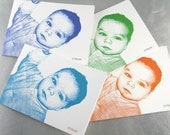 Such an Adorable Face - Custom Note Cards with Your Little One