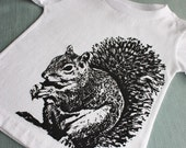 Super Squirrel Baby TShirt - Toddler Sizes Too