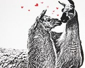 Whole Llama Love - 4 Card Set