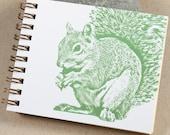 Mini Journal - Sage Squirrel