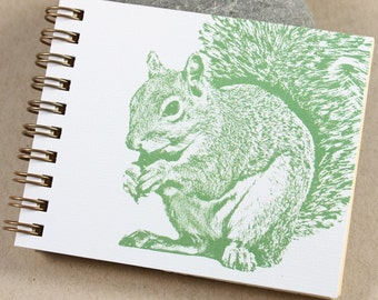 Mini Journal - Sage Squirrel