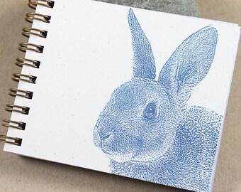 Mini Journal - Blue Bunny