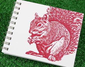 Mini Journal - Super Squirrel in Red