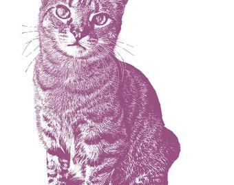 Good Pets Deserve Good Design - CUSTOM PET PORTRAIT - 8 x 10