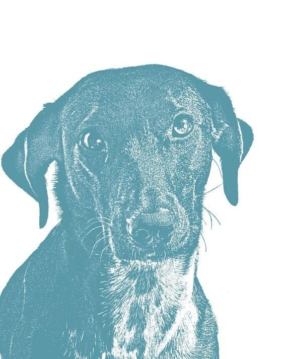 CUSTOM PET PORTRAIT - 8 x 10