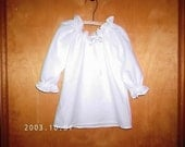 Girls Peasant Blouse