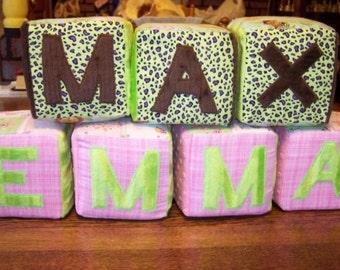 Plush Baby Blocks