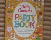 1960 First Edition First Printing -Betty Crocker's Party Book-