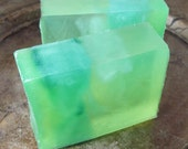 Lime Mint Handmade Vegan Soap