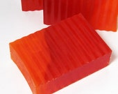 Blood Orange Soap Handmade Vegan Glycerin Bar