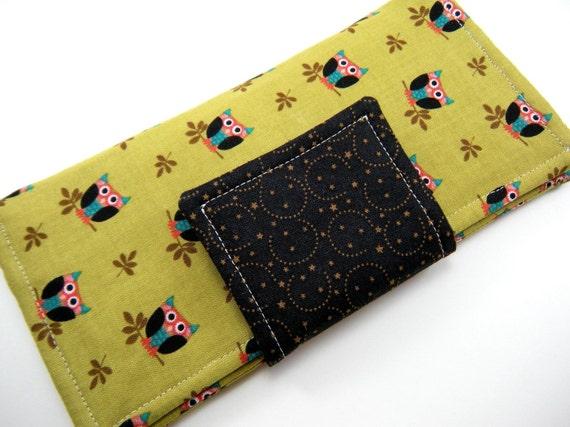 Wallet in HOOT - Zippered