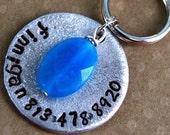 Super Sturdy Distressed Aluminum Pet tag