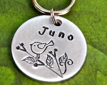 Juno Round  Pet Id Tag
