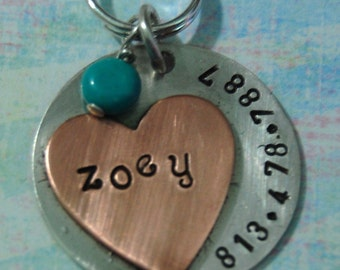 Sterling Silver So Sassy Heart ID Tag