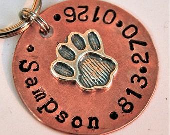 Perfect Paw Dog Tag - Pet id tag