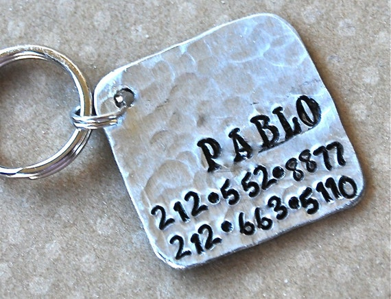 Pet  tag - Pablo Square
