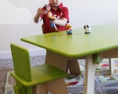 Simple Activity Table w/ Four (4) Chairs - FREE SHIPPING