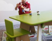 Simple Activity Table w/ Two (2) Chairs - FREE SHIPPING