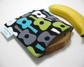 Groovy Guitars  Eco-Green Sandwich Bag