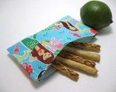 Whimsical Mermaids Eco-Green Snack Bag