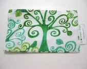 Eco-Green Snack Bag in Environmental Trees