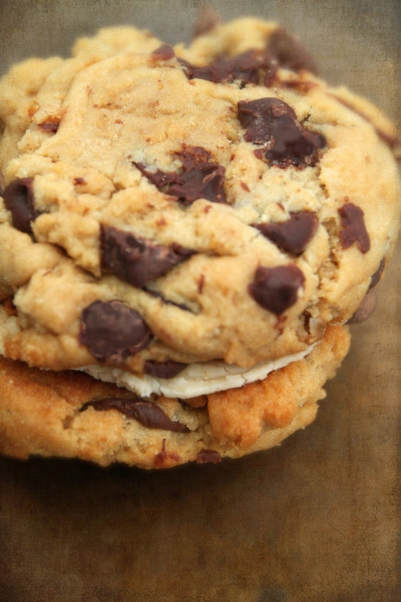 Vegan  Peanut Butter and Chocolate Chip  Whoopee Pies Cookie Sandwich Perfect for Birthday