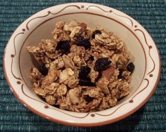 Almond Blueberry Granola- The Very Best- 8 ounces of Goodness