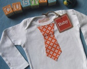custom tie onesie for creativemoose