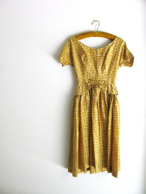 Vintage 1950's JOHNATHAN LOGAN Dress