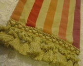 Renaissance Pirate Sash Costume Velveteen Striped Scarf - 110 Inches