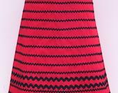 Red\/black Hula Skirt (M)