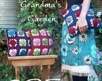 PDF...Grandma's Garden Cushion