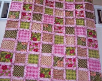 Mezzanine Rag Quilt / Raggedy Quilt